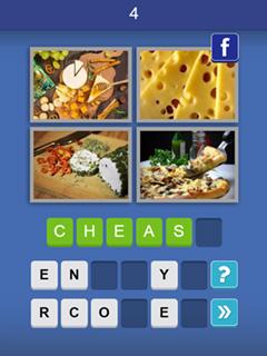 Image 4 Pix Word Quiz